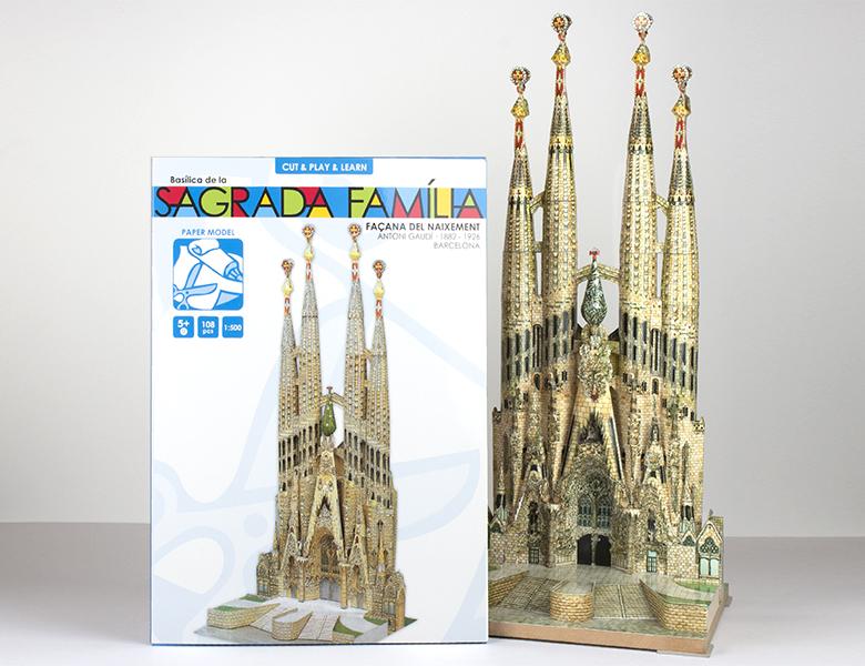 Paper model Sagrada Familia