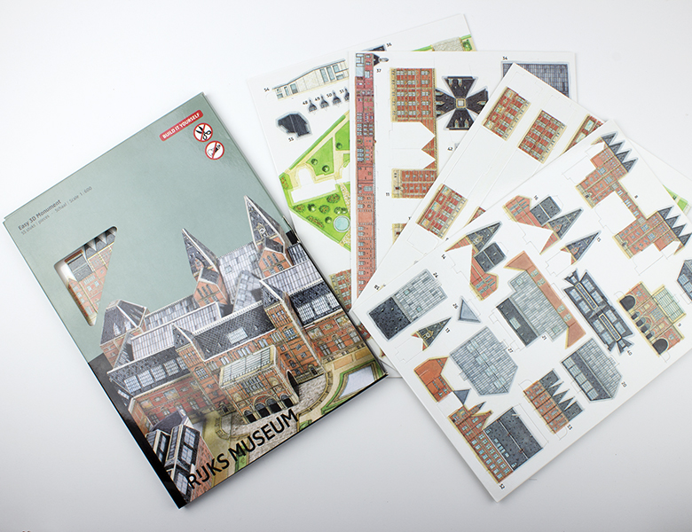Maqueta «puzzle 3D»