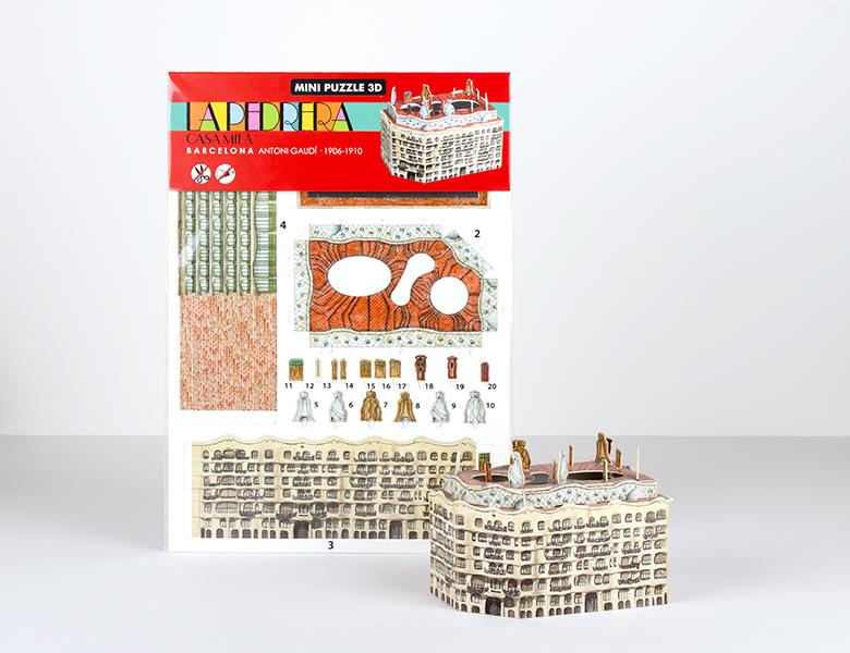 Maquette «Mini Puzzle 3D»