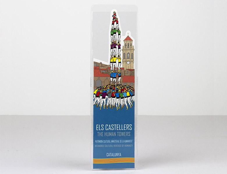 Marcapáginas Castellers