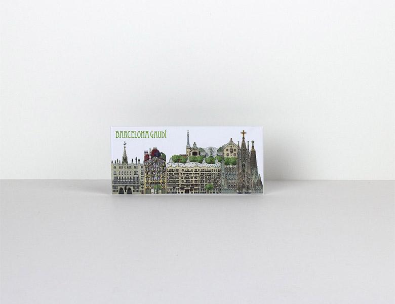 Imán Panoránico Gaudí Barcelona