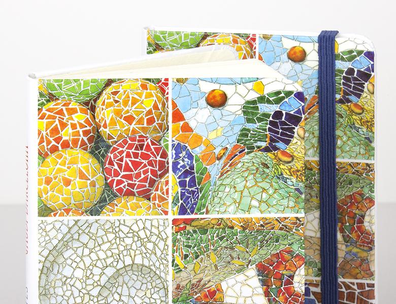 Libreta Trip Mosaicos Gaudí