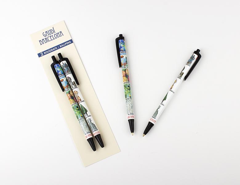 Set de 2 bolígrafos HC Mosaico