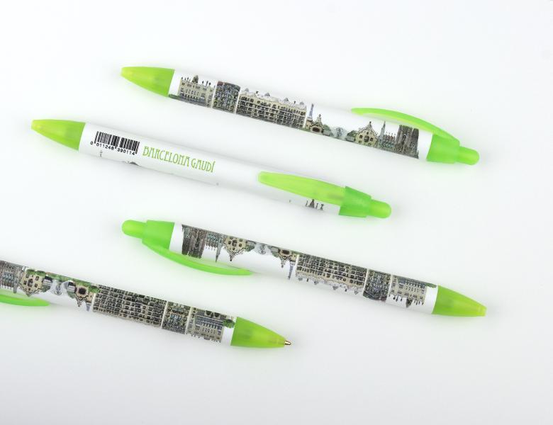 """Ballpoint pen """"XL"""" Panoramic Gaudi"""