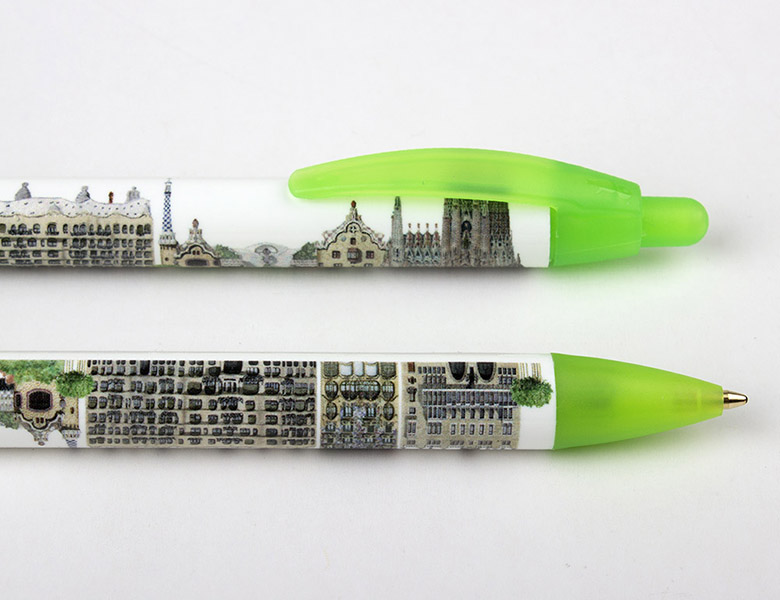 Bolígrafo XL Panorámico Gaudi