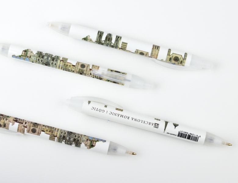 Bolígrafo XL Gótico / Romano Barcelona