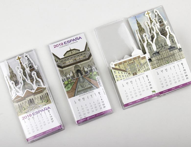 Calendario Pocket España 2020