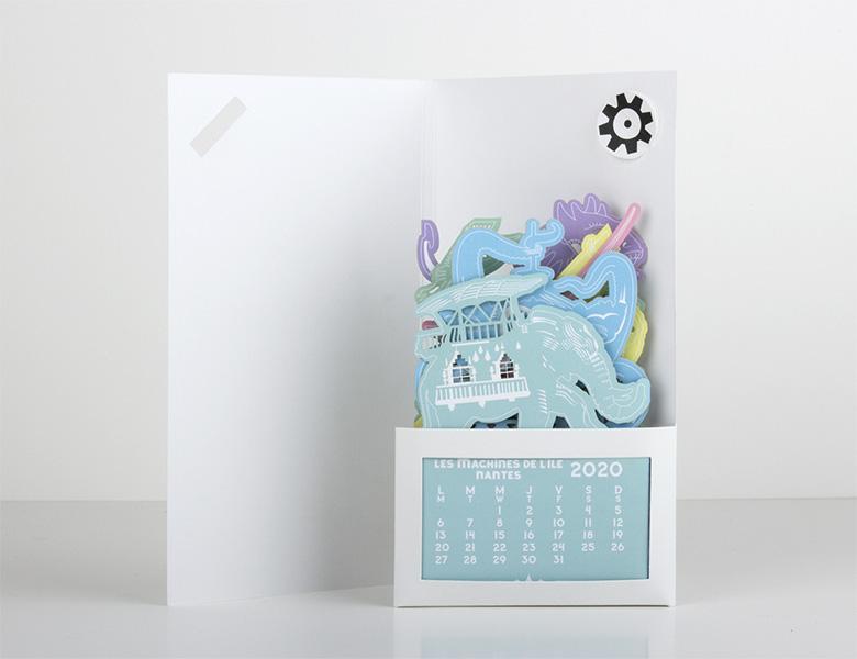 Calendario Láser – «Colour»