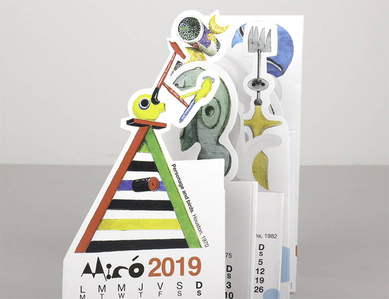 Calendario Pocket Miró 2020