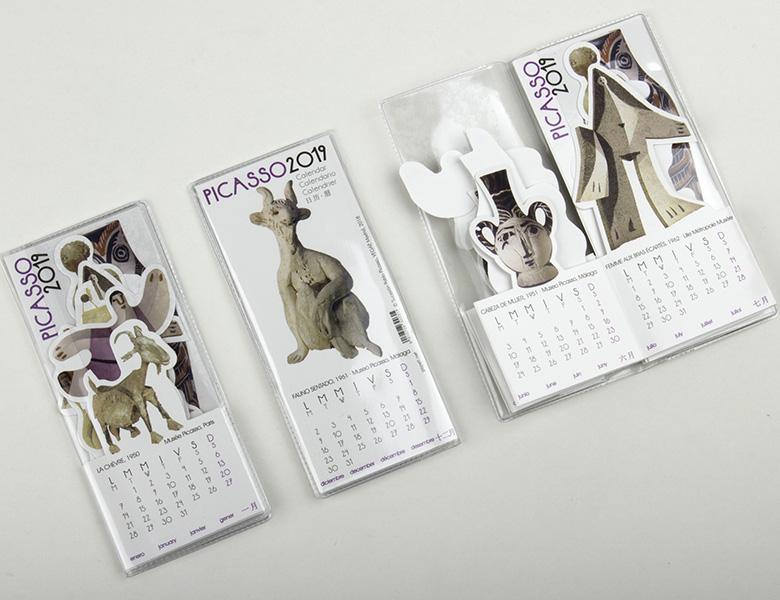 """Mini Calendar """"pocket"""" Picasso 2020"""
