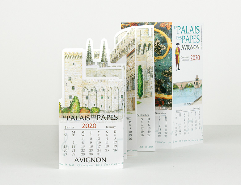 Calendario Troquelado «Pocket»