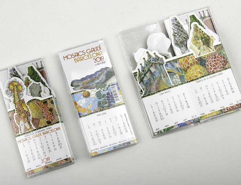 Calendario Pocket Mosaicos Gaudi 2020