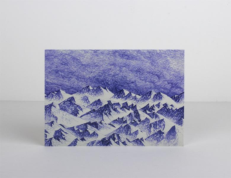 Postal «Trip» ilustrada