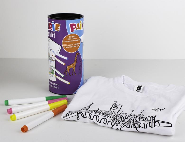 Camiseta para colorear «Artishirt»