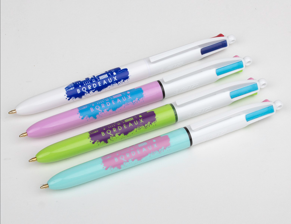 Bolígrafo 4 Colores – «Fun»