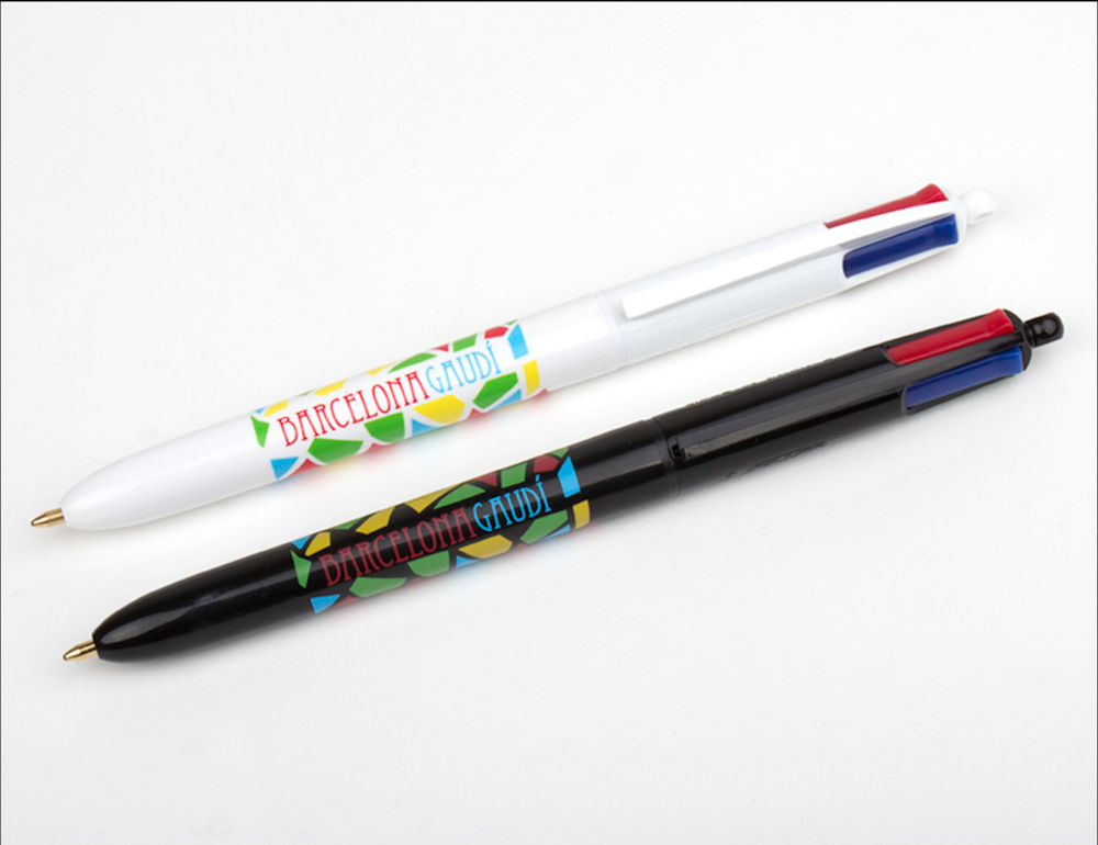 Bolígrafo 4×1 Fun Colours