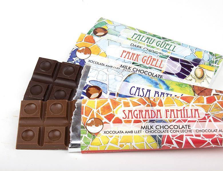 Barre chocolat individuelle