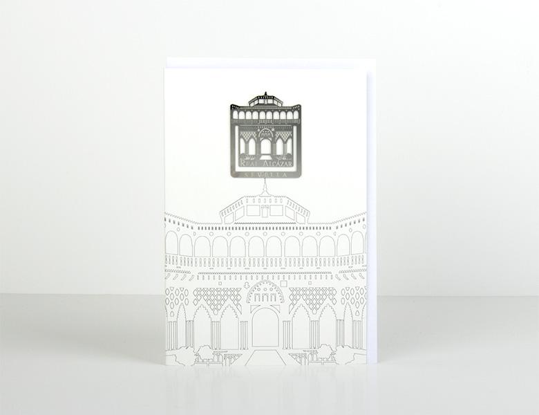 Carte marque-pages Clip métal