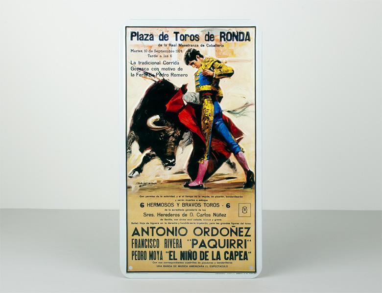 Placa Metálica – Vintage