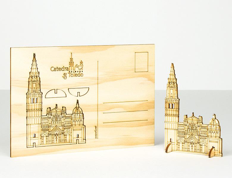 Maqueta de madera