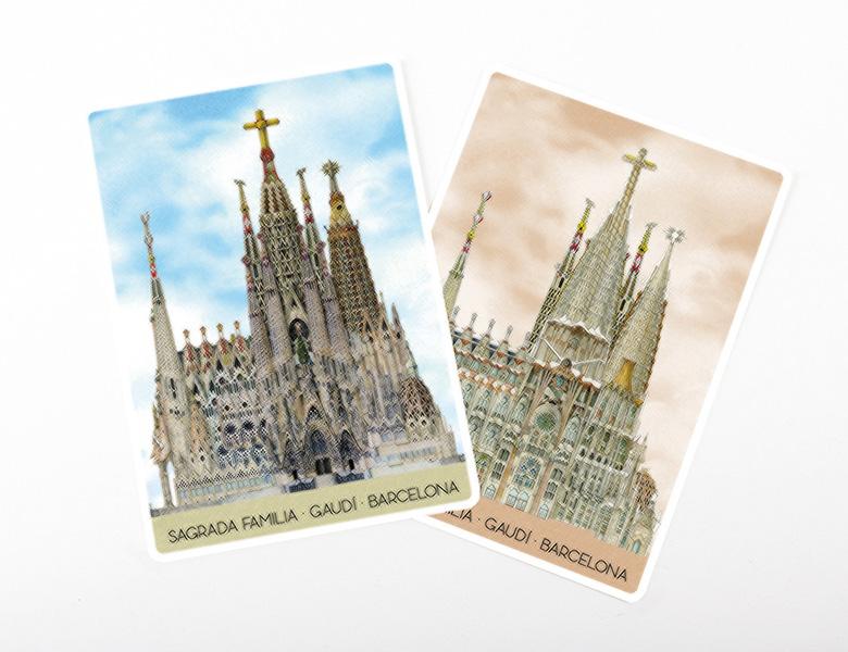 Postal Lenticular o 3D «Magic»